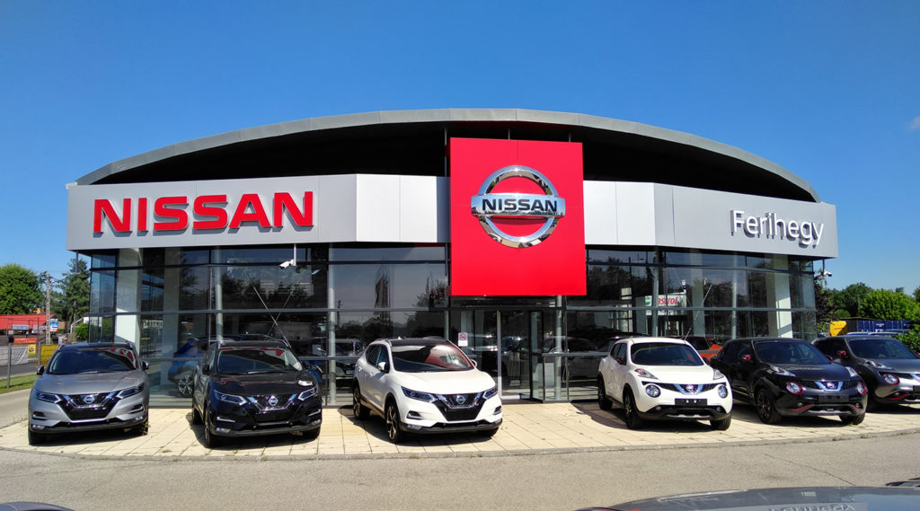 Nissan értékesítés és márkaszerviz